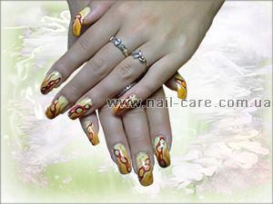 Роспись ногтей, рисунки на ногтях, дизайн ногтей